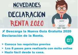 GUIA RENTA 2020 gratis
