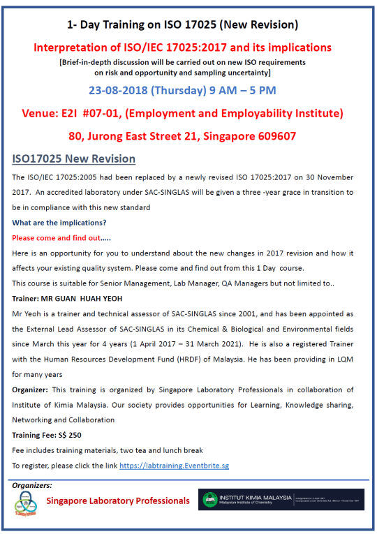 ISO Training Aug 23 2018