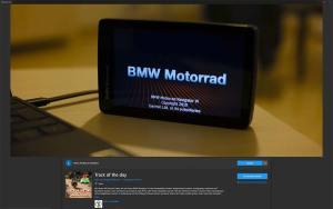 GPX Tracks auswerten und darstellen mit Track of the day, Microsoft Windows Store
