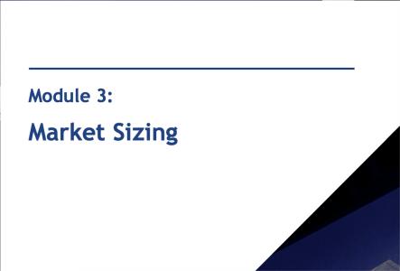 Module 3: Market Sizing Cases