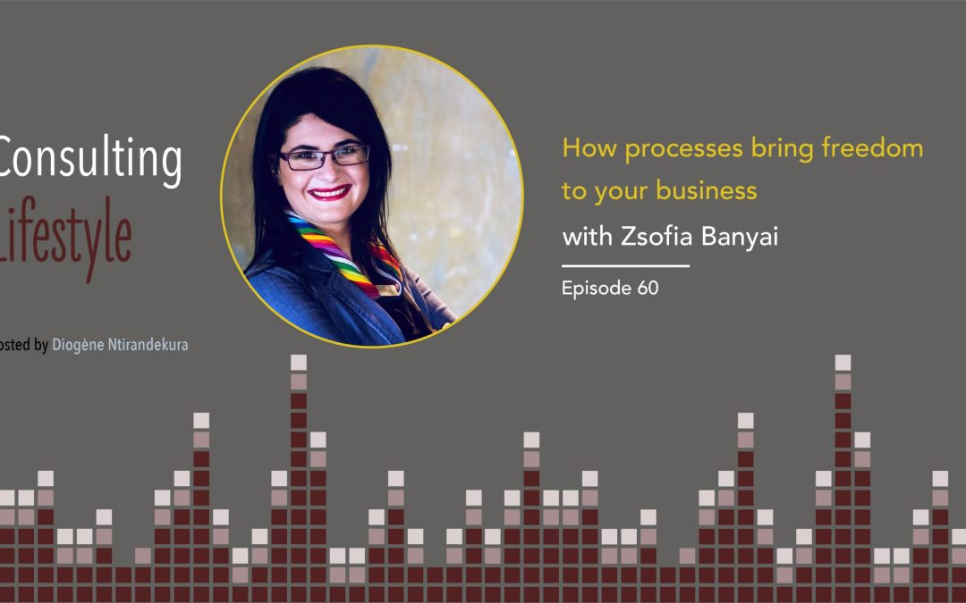 #60: Why processes bring freedom to your business with Zsófia Bányai