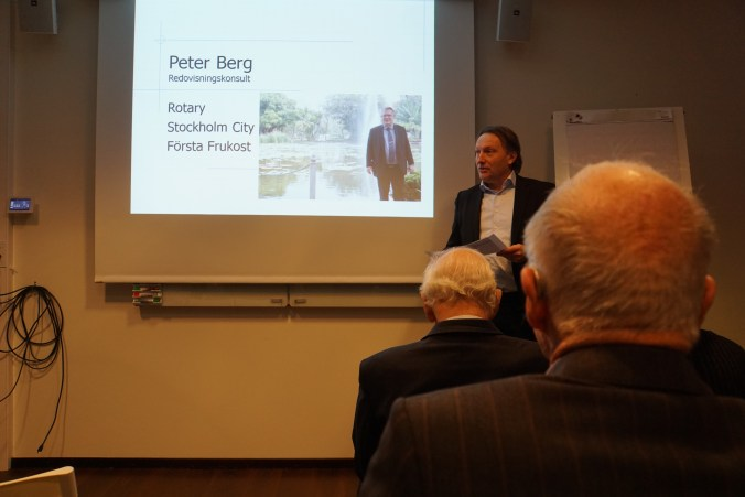 Ego lecture föredrag Rotary