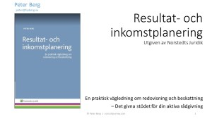 "YouTube Presentation ""Performance and Income Planning"" 