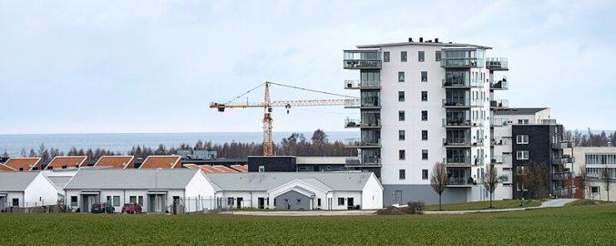 Bostadsbyggande i Västra Sjöstaden i Ystad