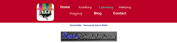 Dads Worksheets at Pivotal Kids