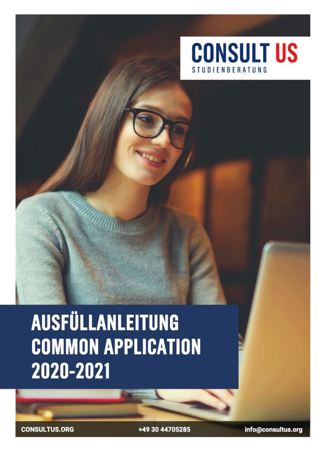 Ausfüllhilfe Common Application