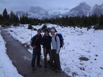 Rick, Paul, and me prior to making our way to Sentinel Pass