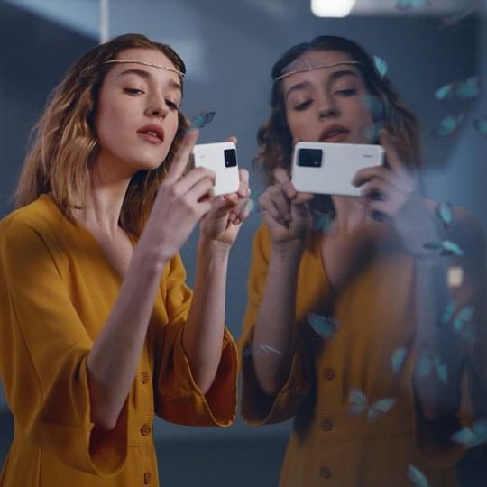 huawei p40 pro golden snap AI Remove Reflection