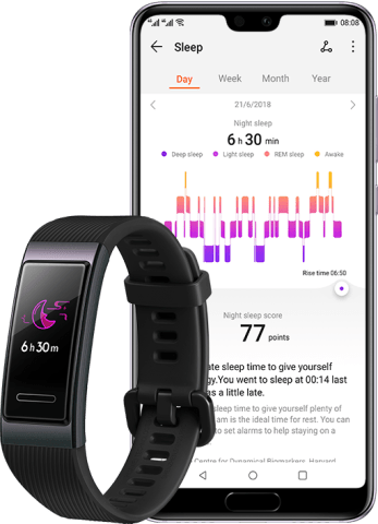HUAWEI Band 3 Scientific sleep monitoring