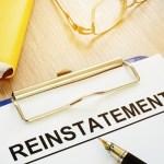 reinstatement period