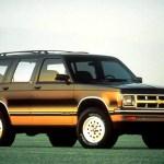 1990 94 Chevrolet S10 Blazer Consumer Guide Auto