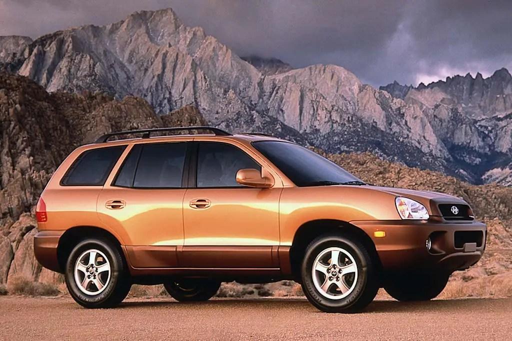 2001 06 Hyundai Santa Fe Consumer Guide Auto