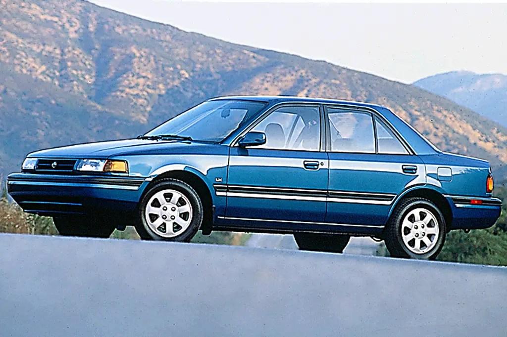 1990 94 Mazda Protege Consumer Guide Auto