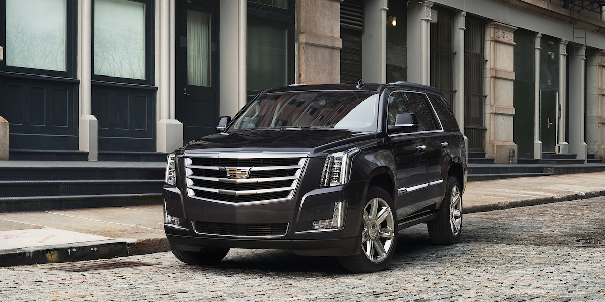 2018 Cadillac Escalade Best Buy Review Consumer Guide Auto
