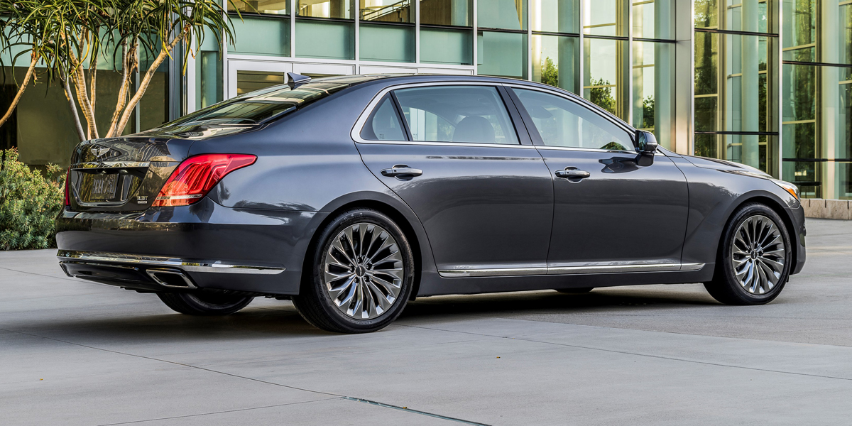 2018 Genesis G90 Best Buy Review Consumer Guide Auto