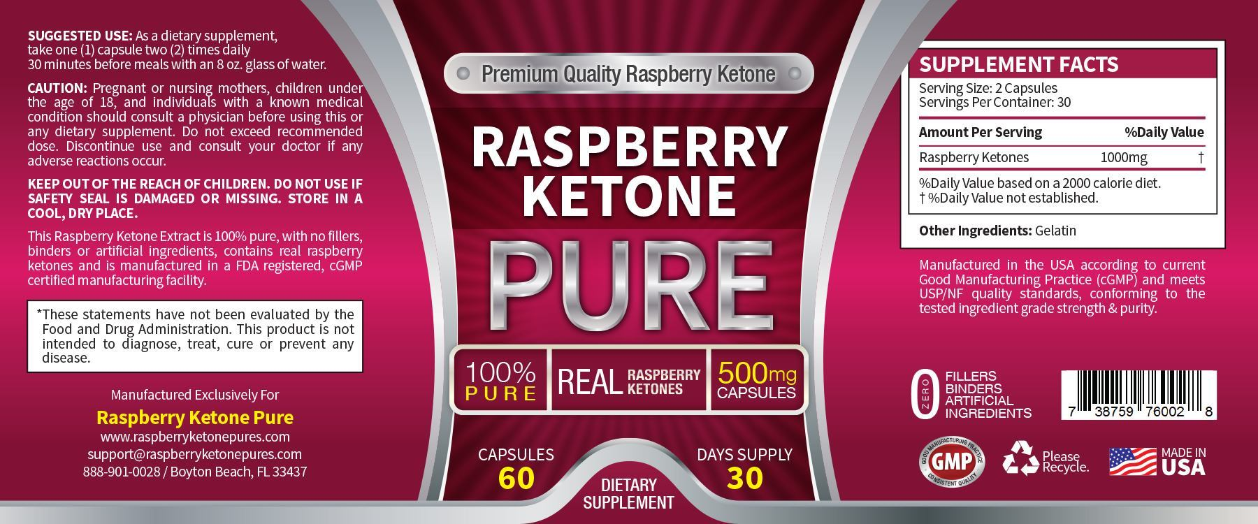 Raspberry Ketone 1000mg Side Effects Maigrir