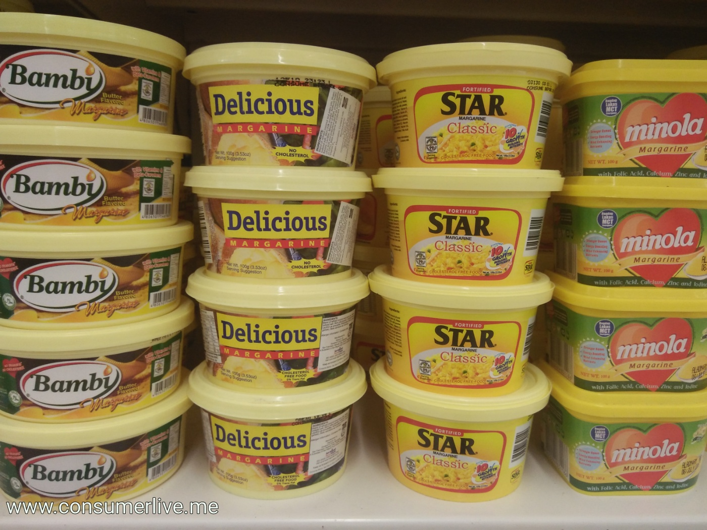 The Preferred Margarine