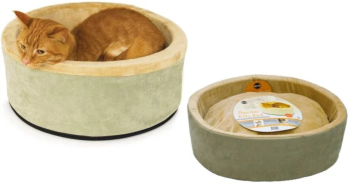 Thermo Kitty Heated Cat Bed Only 14 56 Reg 74 95