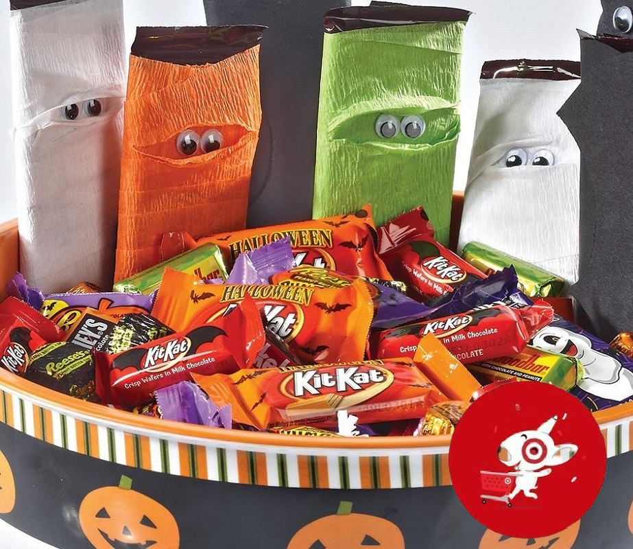 Use the 30% off target circle offer. Big Halloween Candy Bags 6 31 For Target Redcard Holders Reg 10