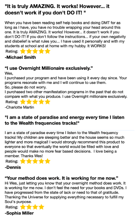 Overnight Millionaire system reviews