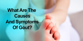 What are the causes and symptoms of gout