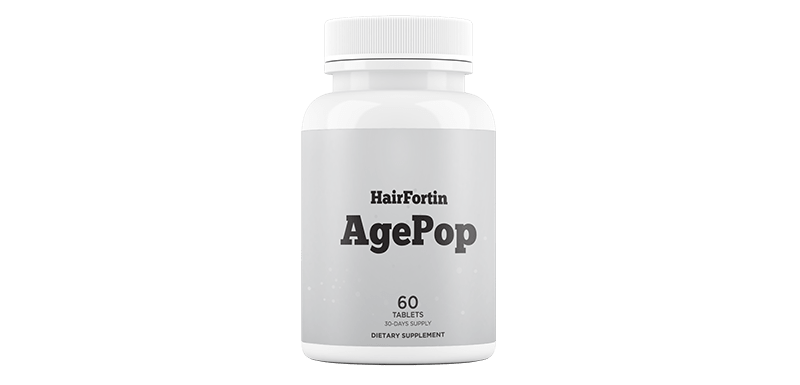 HairFortin AgePop is available with HairFortin pills