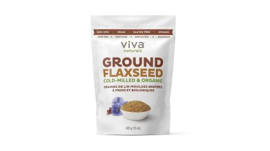 Organic Ground Flaxseed by Viva Naturals