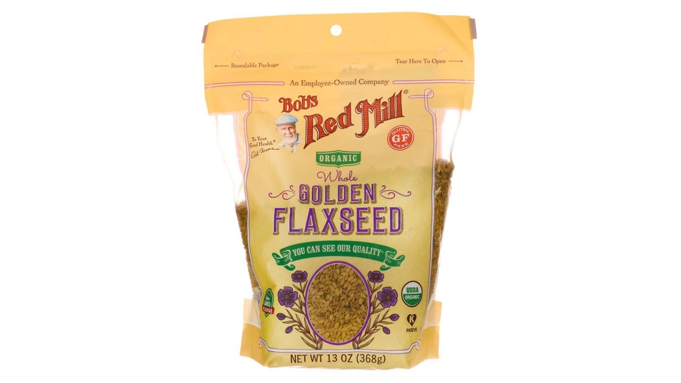 Raw Whole Golden Flax Seeds by Bob's Red Mill