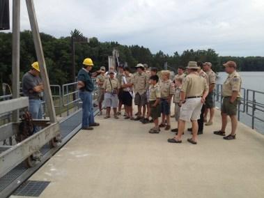 Croton Dam tour
