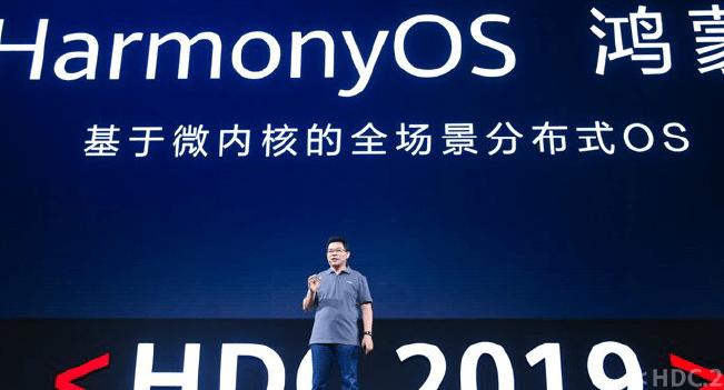 Huawei entra com HarmonyOS