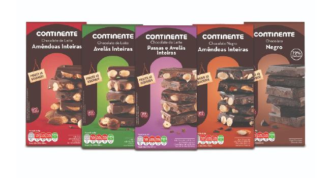 Continente lança chocolates sustentáveis