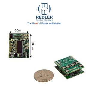Miniature motor controller driver