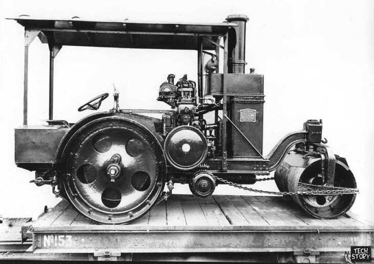 Промышленность Российской империи. Дорожные катки. 1900-е