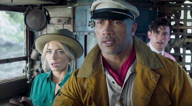 Jungle Expedition - Dwayne Johnson and Emily Blunt surprise people at Disneyland