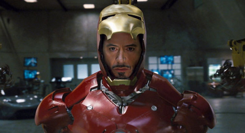 Marvel was making fun of Downey Jr.  before the MCU was born.  Those were strong words