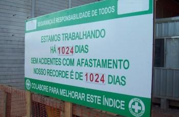 CIPA, Comissão interna de prevenção de acidentes.