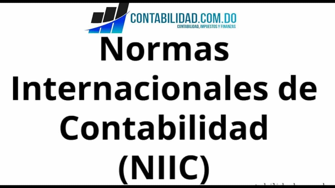 video sobre las normas internacionales de contabilidad