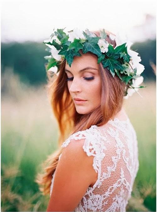 Una corona para la novia