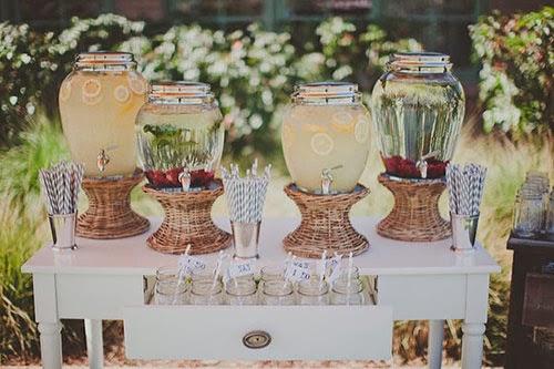 Limonada para bodas
