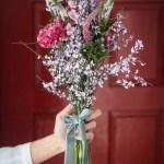 Un ramo para una novia campestre
