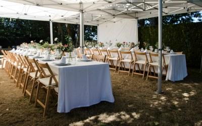 La boda en el campo de Gema y Toni