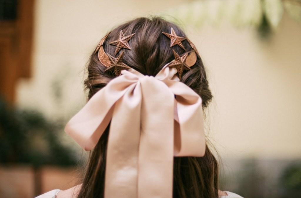 Tocados para novia de Alial