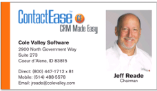 Jeff's Business Card