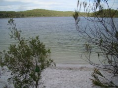 The focal point is almost completely submerged below Boorangoora 1 on 15th March 2013