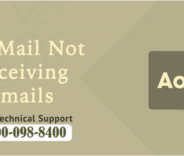 Get Rid Of Aol Account Not Receiving Emails