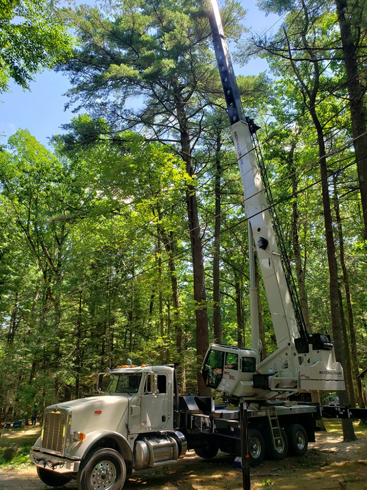 Tree services, truck and equipment