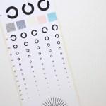 子どもの視力を自宅で測る方法。