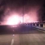 Sigue cerrada la supercarretera Durango a Mazatlán por accidente e incendio en túnel