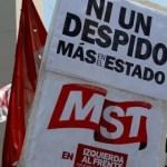 Funcionarios marchan en Argentina para denunciar precarización laboral