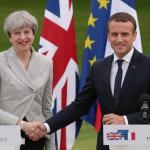 May y Macron acuerdan estrechar su cooperación en defensa e inmigración